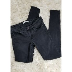 Abercrombie & Fitch Faded Black Jean's